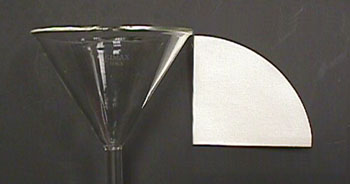2 Select A Piece Of Filter Paper Whose Radius Is Slightly